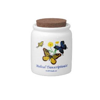 MT Butterflies Candy Jar