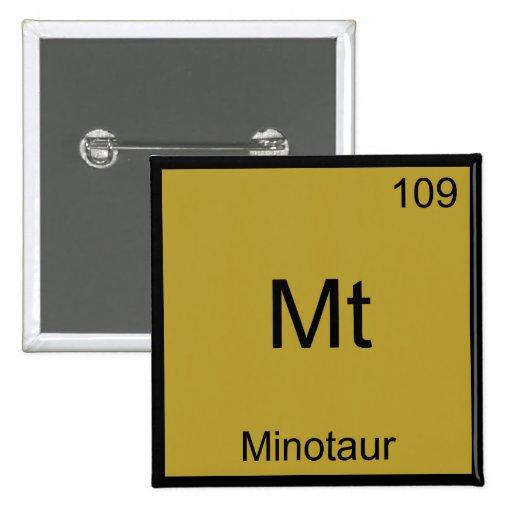 Mt - Camiseta divertida del símbolo del elemento d Pin