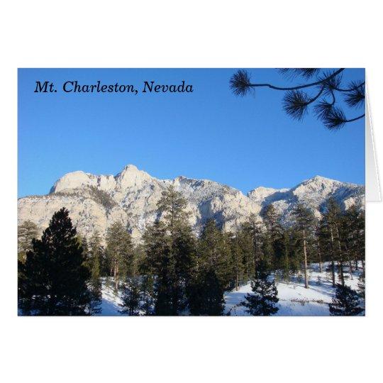 Mt Charleston Notecard