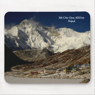 Mt Cho Oyu and Gokyo Mouse Pad