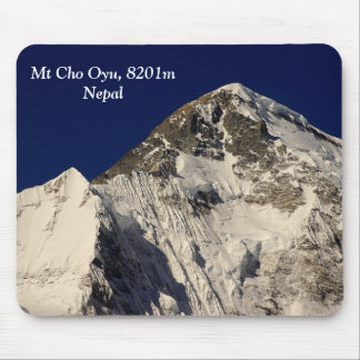 Mt Cho Oyu Mouse Pad