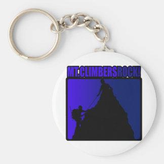 Mt Climbers Rock Keychain