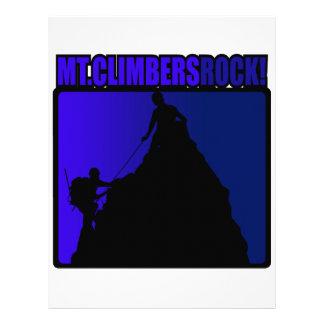 Mt Climbers Rock Custom Letterhead