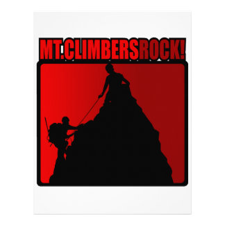 Mt Climbers Rock Letterhead Template