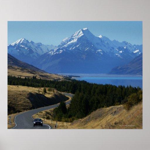 Mt. Cocinero, Nueva Zelanda Poster