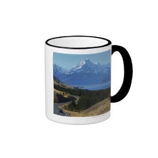 Mt. Cocinero, Nueva Zelanda Taza De Dos Colores