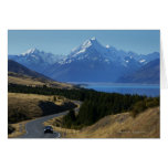 Mt. Cook, New Zealand Card