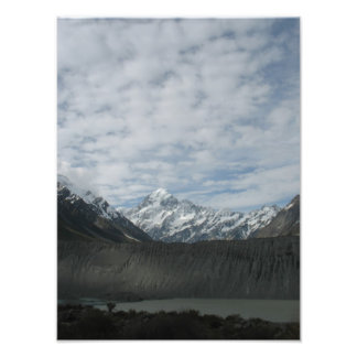 Mt Cook  New Zealand Photo Print