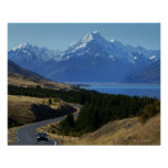 Mt. Cook, New Zealand Posters