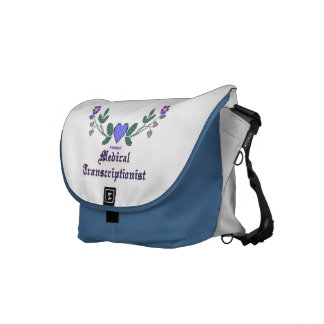 MT Cross Stitch Print Courier Bag