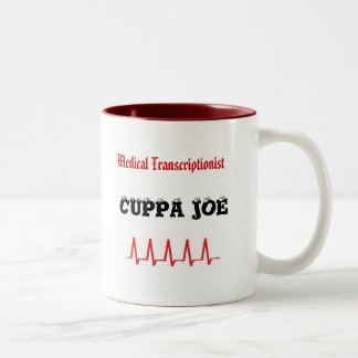 MT Cuppa Joe Two-Tone Coffee Mug