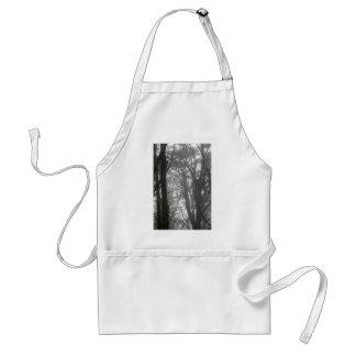 Mt Davidson Trees and Fog Adult Apron