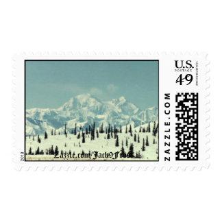 Mt Denali #01, Zazzle.com/Jack9Frost Postage Stamps