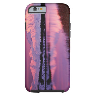 Mt. Denali at sunset from Reflection Pond Tough iPhone 6 Case