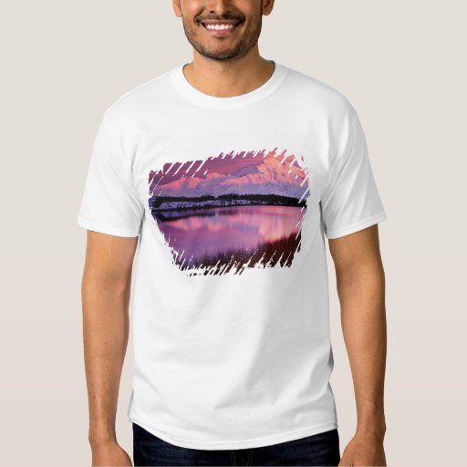 Mt. Denali at sunset from Reflection Pond T Shirt