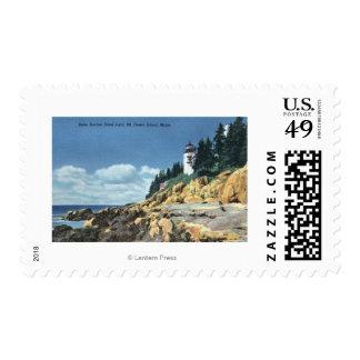 Mt. Desert Island, Bass Harbor Head Lighthouse Postage