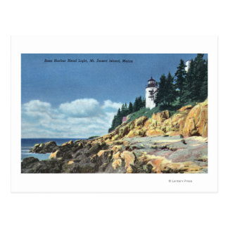 Mt. Desert Island, Bass Harbor Head Lighthouse Postcard