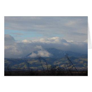 Mt. Diablo Greeting Card