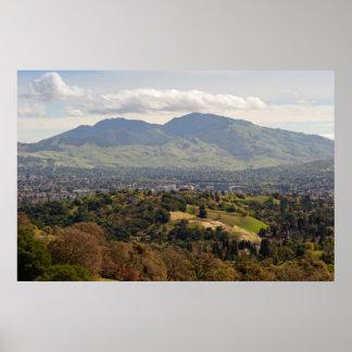 Mt. Diablo Poster