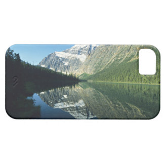 Mt Edith Cavell in Cavell Lake, Jasper National iPhone 5 Cover