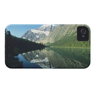Mt Edith Cavell in Cavell Lake, Jasper National Case-Mate iPhone 4 Cases