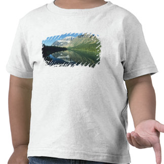 Mt Edith Cavell in Cavell Lake, Jasper National T Shirt