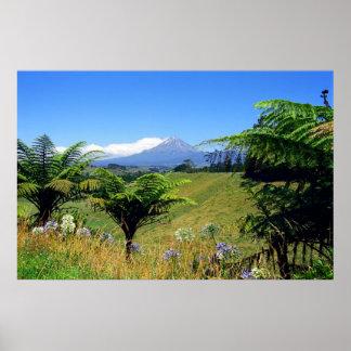 Mt.Egmont Taranaki Print
