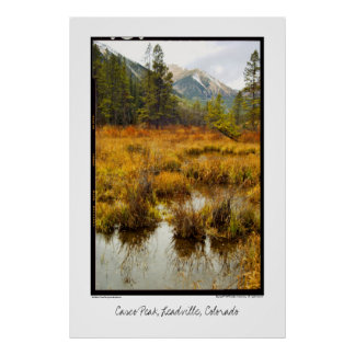 Mt. Elbert & Casco Peak, Leadville, Colorado Poster