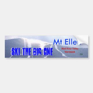 Mt Ellen 5 Car Bumper Sticker
