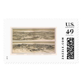 Mt. Emma and Mt. Trumbull Grand Canyon View 1882 Postage Stamp