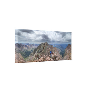 Mt Eolus and the Catwalk - Chicago Basin, Colorado Canvas Print