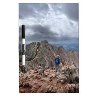 Mt Eolus and the Catwalk - Chicago Basin, Colorado Dry-Erase Board