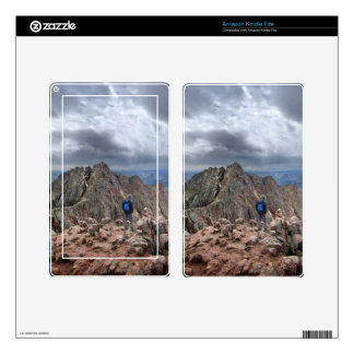 Mt Eolus and the Catwalk - Chicago Basin, Colorado Kindle Fire Skins