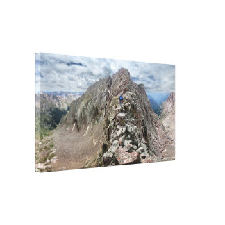 Mt Eolus Catwalk 2 - Chicago Basin - Colorado Canvas Print