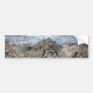 Mt Eolus Catwalk - Chicago Basin - Colorado Bumper Sticker