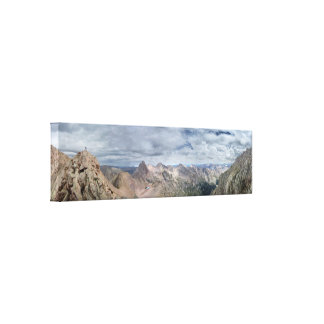 Mt Eolus Catwalk - Chicago Basin - Colorado Canvas Print