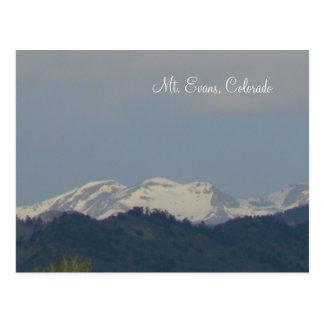 Mt. Evans, Colorado Postcard