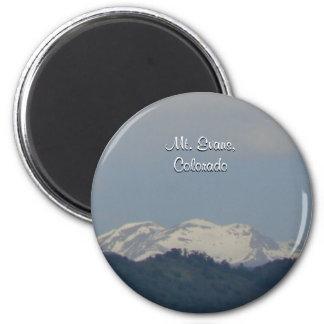 Mt. Evans 2 Inch Round Magnet