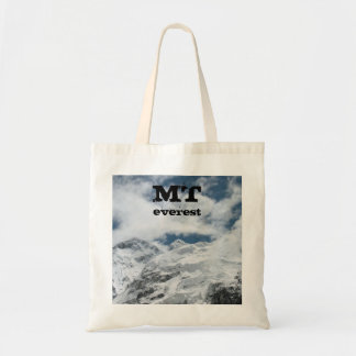 MT Everest by Interestingly Tote Bag