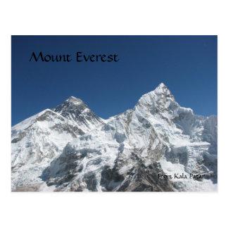 Mt Everest de la postal de Kala Patar