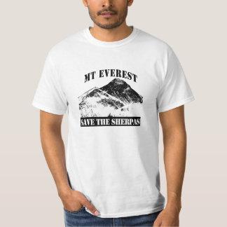 Mt Everest Save the Sherpas T-shirt design