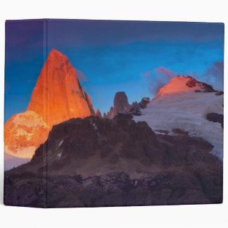 Mt Fitz Roy At Sunrise Binder