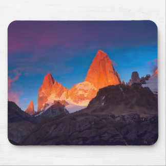Mt Fitz Roy At Sunrise Mouse Pad
