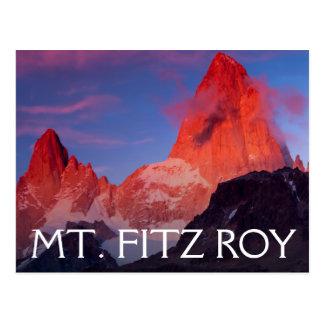 Mt Fitz Roy Postcard