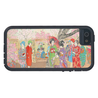 Mt Fuji and the Cherry Blossoms on Asuka Hill art iPhone SE/5/5s Case
