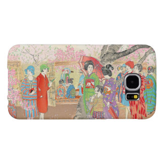 Mt Fuji and the Cherry Blossoms on Asuka Hill art Samsung Galaxy S6 Case