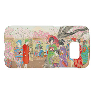 Mt Fuji and the Cherry Blossoms on Asuka Hill art Samsung Galaxy S7 Case