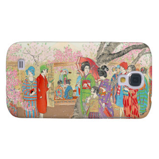 Mt Fuji and the Cherry Blossoms on Asuka Hill art Samsung S4 Case