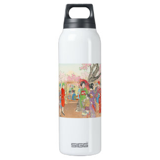 Mt Fuji and the Cherry Blossoms on Asuka Hill art SIGG Thermo 0.5L Insulated Bottle