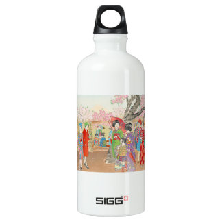 Mt Fuji and the Cherry Blossoms on Asuka Hill art SIGG Traveler 0.6L Water Bottle